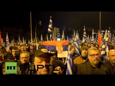 Greece: Golden Dawn rallies for Imia crisis anniversary  in Athens