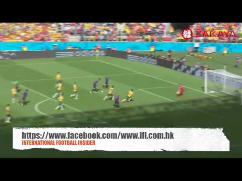 FIFA World Cup Australia 2-3 Netherlands Highlight 18/06/2014