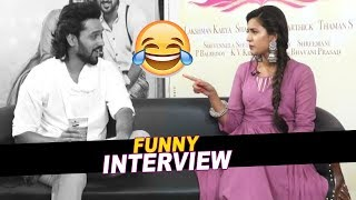 Sumanth Ashwin and Niharika Konidala Funny interview | Happy wedding Movie  | Filmylooks
