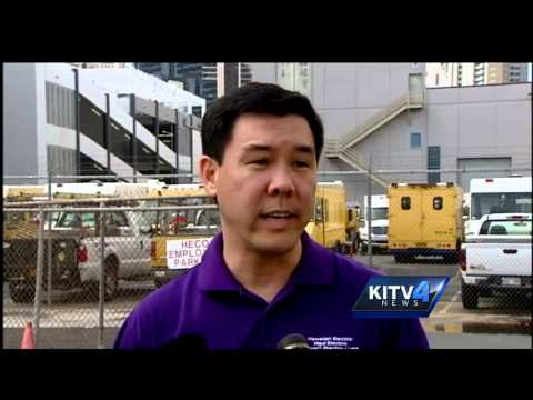HECO works to restore power across Oahu