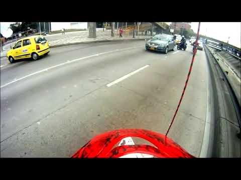 accidente de moto en bogota