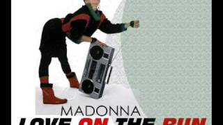 Watch Madonna Love On The Run video