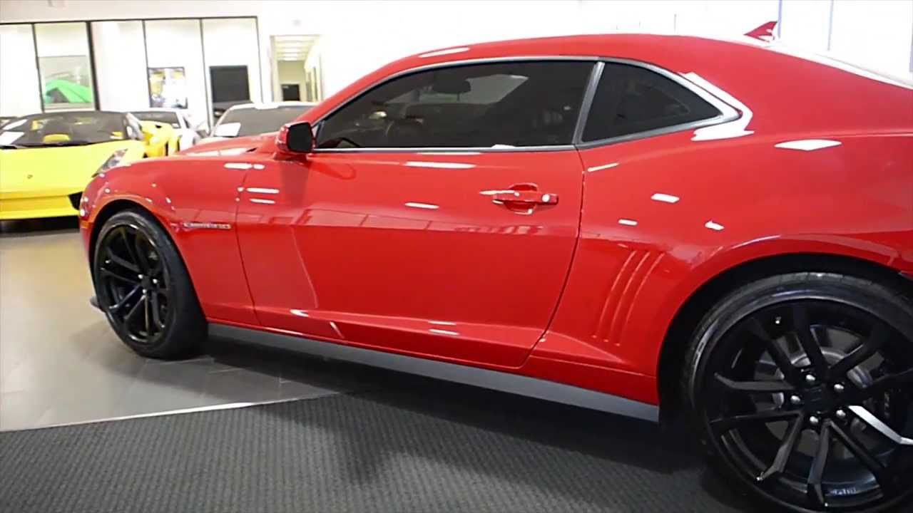 2014 Chevrolet Camaro Zl1 Bright Red Lt0598 Youtube
