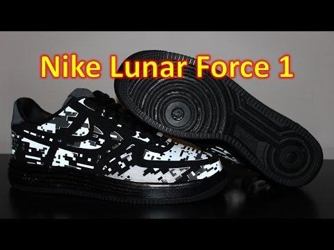 Nike Lunar Force 1 Digi Camo - Review + On Feet