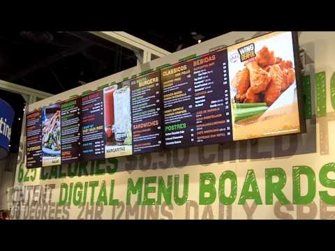 DSE 2015: NCR Features Indoor Digital Menuboards With POS Integration, Nutritional Information