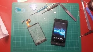 Sony Xperia Go digitizer replacement