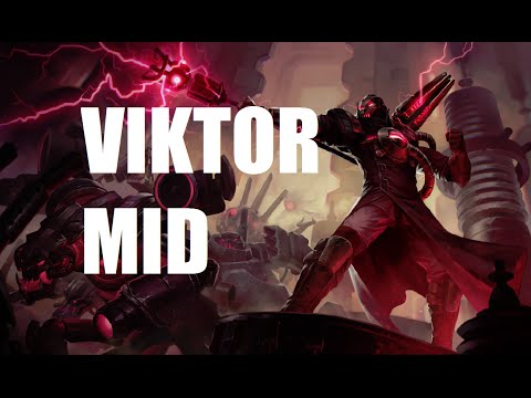 League of Legends - Reworked Viktor Mid - Full Game With Friends