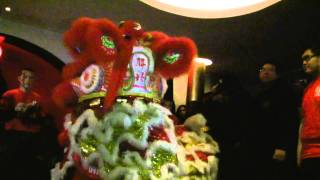 Luen Hing Lion Dance Team 2/2/11 Origami Hennessy Party
