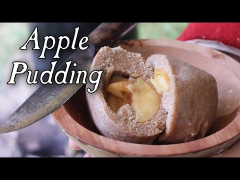 Simple Apple Pudding 18th Century Cooking with Jas Townsend and Son S4E16