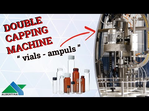 Albertina - Double capping machine