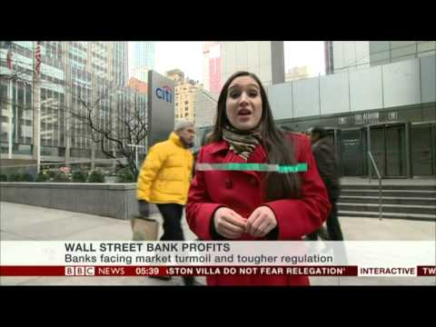 NADA TAWFIK:--: BBC 'WORLD BUSINESS REPORT' - 15 Jan 2016 - Wall St Bank Profits