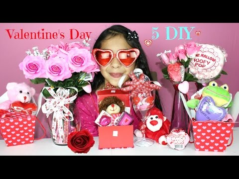 5 Valentine's Day DIY Gift Ideas