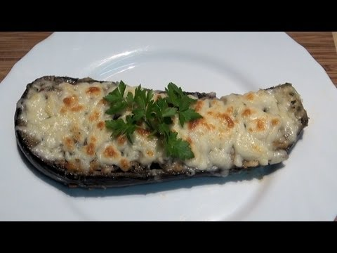 Berenjenas rellenas de verdura Vídeo receta 59 Aquí cocinamos todos. Cooking recipe