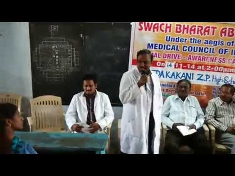 A Special drive and awareness campaign conducted at zillaparishath High School at pedakakani Village. On 14.11.2014 on the Eve of Children's Day as a part of...