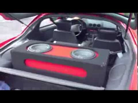 1994 Firebird Custom Subwoofer Box 2 10s Power Acoustik