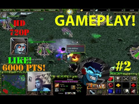 ★DoTa 6.83d Traxex, Drow Ranger - GamePlay | Guide★ 6000 Points Game! ★ #2