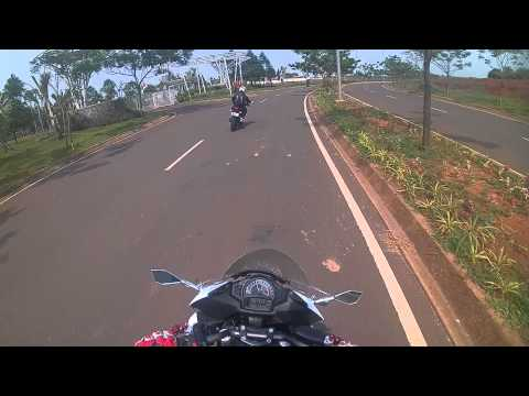 Brica B-pro 5 action cam - morning ride part 1