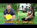 SOBREVIVENDO no CAMPING 2 | OVO E BOLO NA CHURRASQUEIRA E  DIY | ACAMPAMENTO | Travel & Share