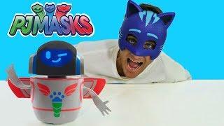 PJ Masks PJ Robot !    Disney Toy Review    Konas2002