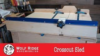 Shop Project: Crosscut Sled