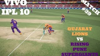 1ST MAY VIVO IPL 10 : GL VS RPS : MATCH 39