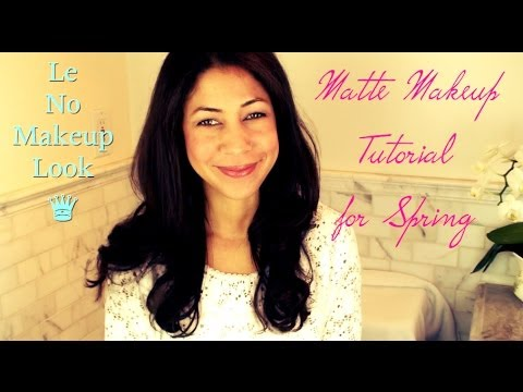 Le No Makeup Look Matte Tutorial