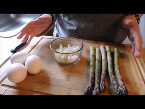 Jajka Sadzone Z Zielonymi Szparagami - Poprawne Wykonanie