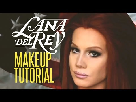 Lana Del Rey Drag Queen Makeup Tutorial