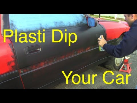 how to plasti dip a car dip your car youtube. Black Bedroom Furniture Sets. Home Design Ideas
