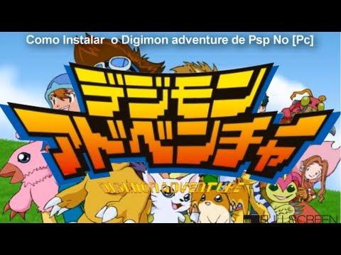 Como Instalar o Digimon Adventure de Psp No [Pc]