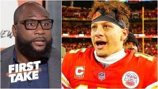 The Patriots won't stand in the Chiefs' way to the Super Bowl - Marcus Spears | First Take