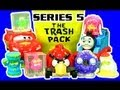The Trash Pack Series 5 Vs Lightning McQueen Angry Birds Thomas The Tank Hot Wheels Chuggington