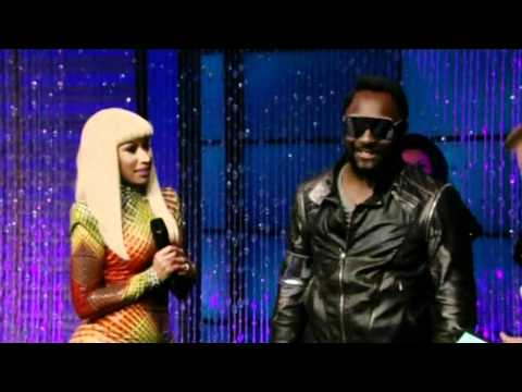 [HD] Nicki Minaj & Will.I.Am - Check It Out (Live On Regis & Kelly 10/11/2010)