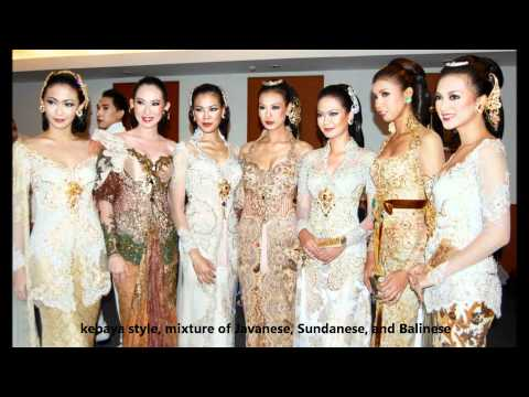 Southeast Asian's Women National Dress