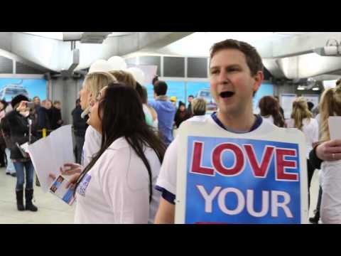 "The National Health Singers - ""Yours"" (Flashmob Version)"