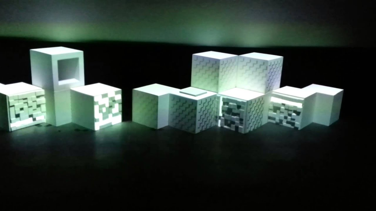 Projection Mapping Cubes Cube 3d Projection Mapping