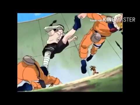Naruto vs neji [grindin my whole life]