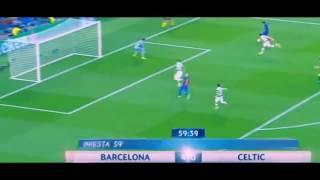 Hattrick  Lionel Messi Barcelona vs Celtic 5:0 UEFA Champions League