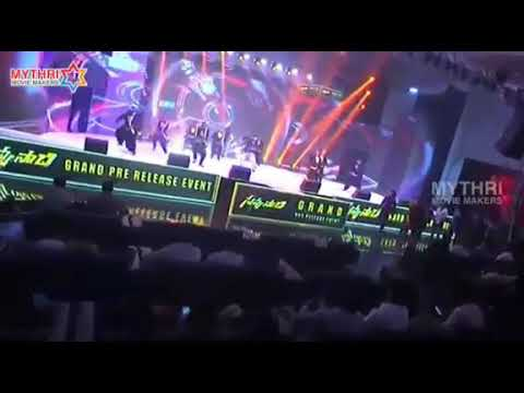 dance performance in Savyasachi audio launch | nagachaithnya's Savyasachi Telugu movie