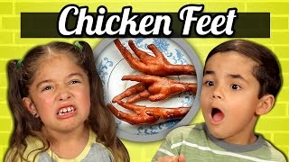 KIDS vs. FOOD - CHICKEN FEET