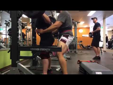 PTC Sydney - Ashleigh squats 180kg