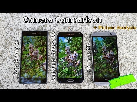 Sony Xperia Z2 vs HTC One M8 vs Samsung Galaxy s5 - Camera Comparison