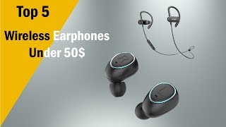 Top 5 Wireless Earphones Under 50$ (Best 5 Earbuds From Aliexpress)