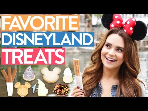 MY FAVORITE DISNEYLAND TREATS!