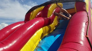 CRAZY WATER SLIDE FAILS (insanity at best bud