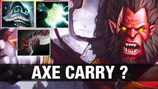 OP AXE CARRY ? Draskyl Plays AXE With Abyssal Blade and Mjollnir - Dota 2