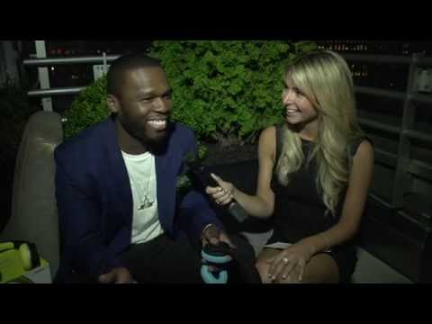 Kaitlin O'Toole and 50 cent FULL INTERVIEW