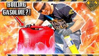 Is Boiling Gasoline A Good Idea?
