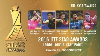 The Star Table Tennis Points of 2016