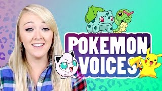 POKEMON VOICE IMPRESSIONS